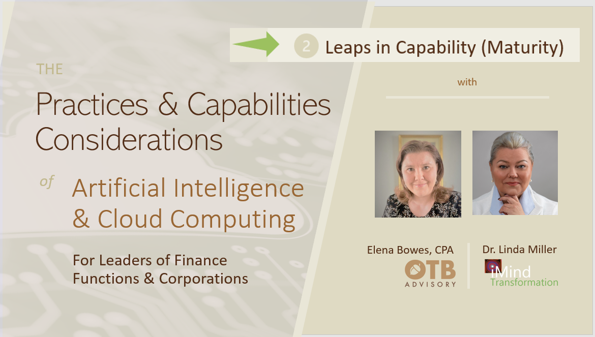 Capability Maturity Leaps That Leverage AI and Cloud Computing